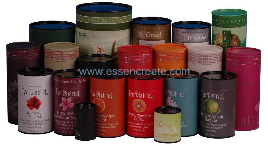 Round Cylinder Packaging Paper Tube Cans